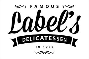 famous labels deli logo